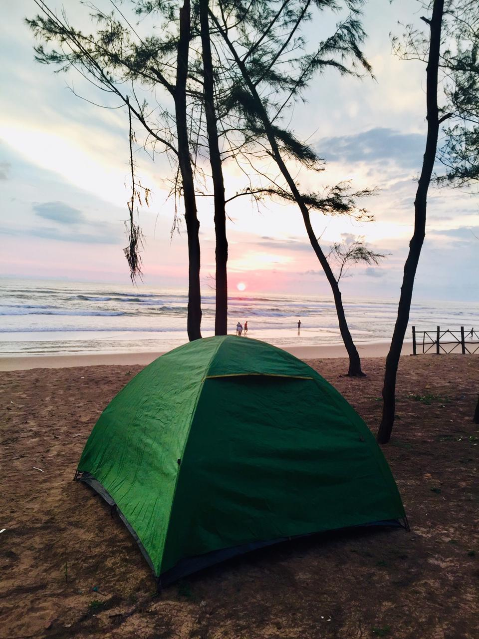 Beach Camping at Gokarna