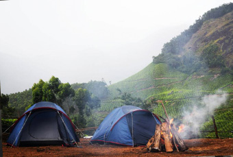 Hillside Camping at Ooty