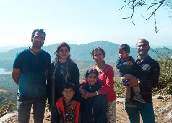 Capt A.P.S Kumar & Family